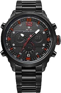 Relógio Masculino Weide AnaDigi WH-6303 - Preto e Vermelho