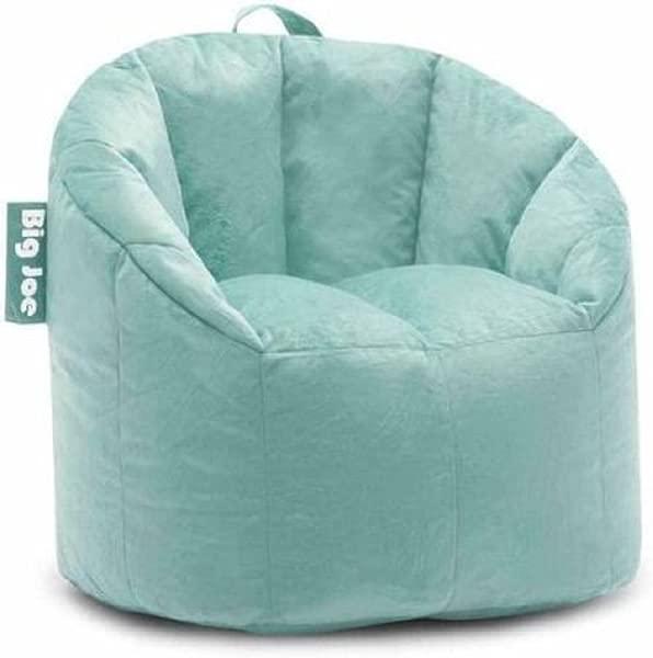Big Joe Milano Bean Bag Chair Filled With UltimaX Beans Mint Plush