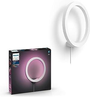Philips Hue – Lámpara inteligente, Hue Sana, Aplique LED Inteligente, Luz Blanca y de Colores, Compatible con Alexa y Goog...