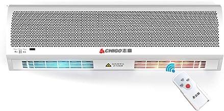 Air Curtain Machine, Cold and Warm, Air Curtain, Energy-Saving Air Curtain Fan, 220V Voltage Remote Control Operation, Sim...