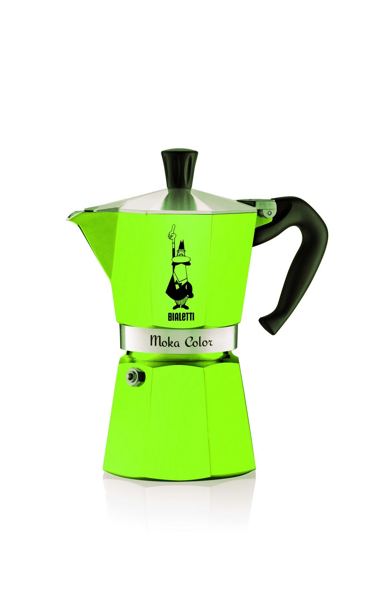 Bialetti Moka Express Color 0.3L Verde - cafeteras italianas (Aluminio, Verde, Moka Color): Amazon.es: Hogar