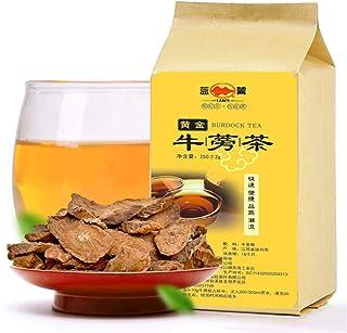 Té de hierbas chino Bardana seca cortada con corte de raíz dorada 250g (0.551LB) Té Nuevo té fragante Té verde Cuidado de ...