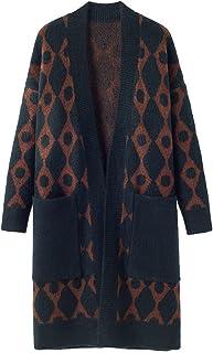 Cárdigan de manga larga con bolsillos para mujer, estilo informal, de punto, de gran tamaño, para exteriores, otoño, invie...