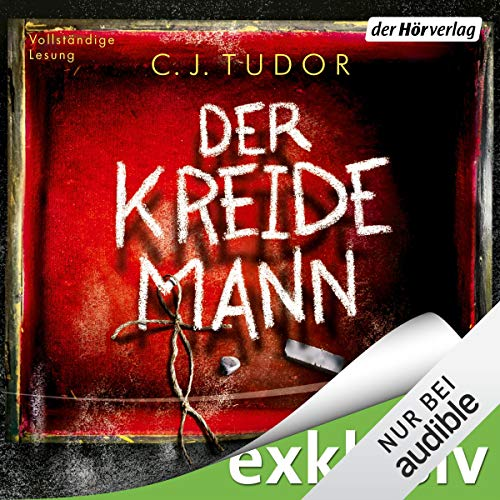 Der Kreidemann                   By:                                                                                                                                 C. J. Tudor                               Narrated by:                                                                                                                                 Devid Striesow                      Length: 9 hrs and 48 mins     Not rated yet     Overall 0.0
