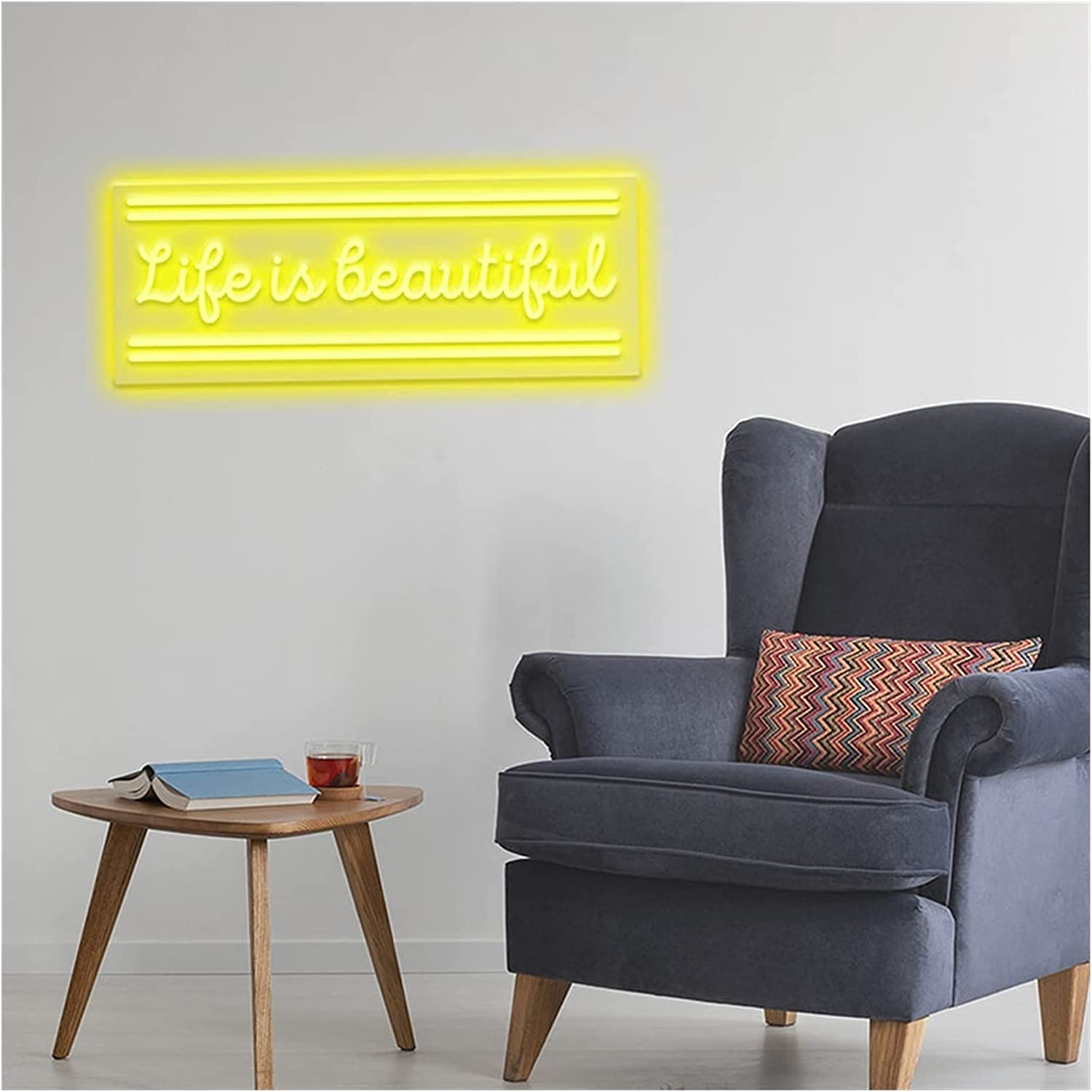 Neon Many popular Tampa Mall brands Signs Wall Sign Custom Lighting Room Home L Decor House for