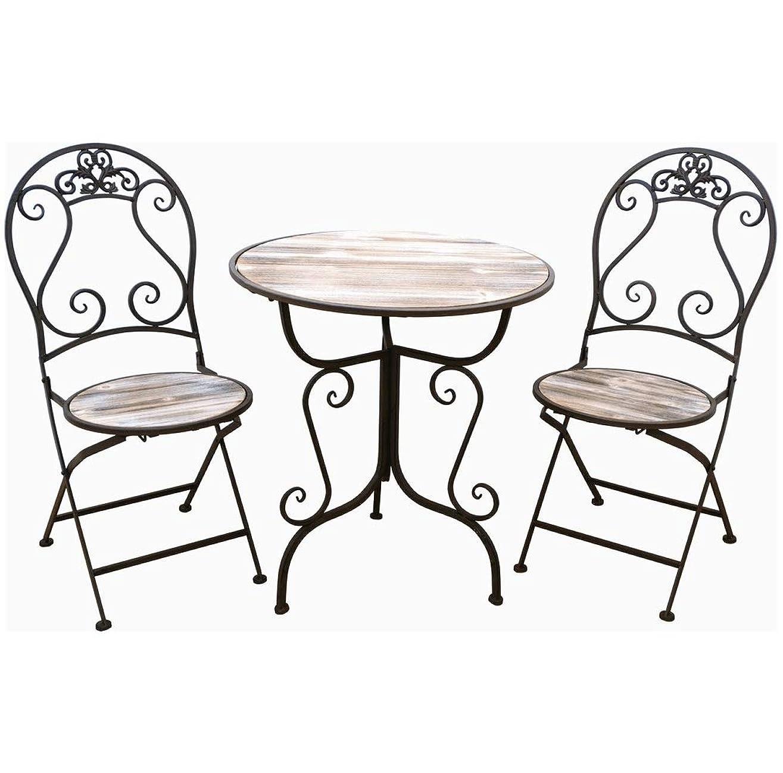 倉庫マチュピチュ険しいLiebe【リーベ】 ガーデンファニチャー ガーデンテーブルセット 木目調 (テーブル?チェア2P)