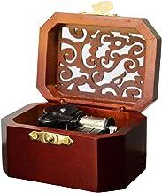 BEECH WOOD  JEWELRY MUSIC BOX  ♫ ELFEN LIED LILIUM ♫