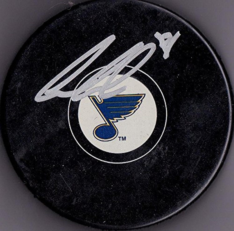 Ian Cole Signed Hockey Puck  w COA  Autographed NHL Pucks