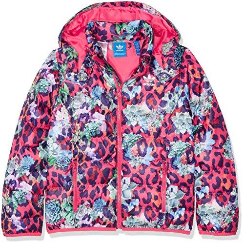 adidas Kinder S Rose Jacke, Multicolor/Fresh Rosa, 164