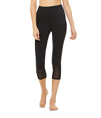 ALO Off The Grid Capris (Black) Women
