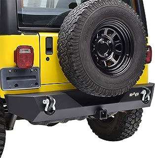 E-Autogrilles 51-0014 EAG Rear Bumper With 2