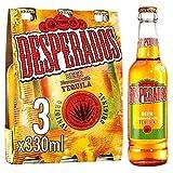 Botellas de cerveza Desperados Tequila 3 x 330 ml