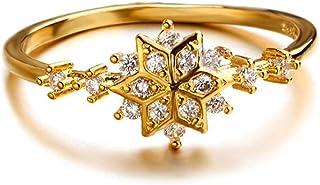 حلقات كريستال من يانهوا للنساء، خواتم خطوبة لها، خاتم مرصع بحجر الراين، هدايا مجوهرات للنساء، نمط 5