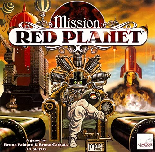 Mission rot Planet