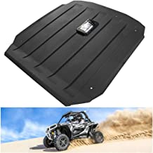 Hard Roof Compatible for Polaris RZR 900 XP 1000 Turbo 900 S Trail UTV Top with Reading Lamps Light,Black - KIWI MASTER