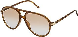 SLW972M5606PL Gafas de sol, Shiny Light Havana, 56 para Mujer