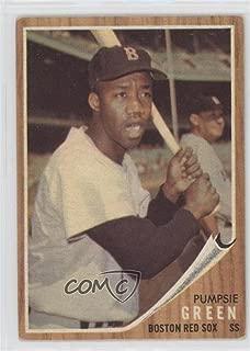 Pumpsie Green (Baseball Card) 1962 Topps - [Base] #153.2