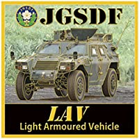 KB NEW CHOKIN シリーズ ステッカー 陸上自衛隊 LAV 軽装甲機動車 完成品