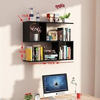 Bibliothèque Zai Yi étagères étagère Armoires Bibliothèque étages De Rangement Placard De Rangement,B-80*15*60cm