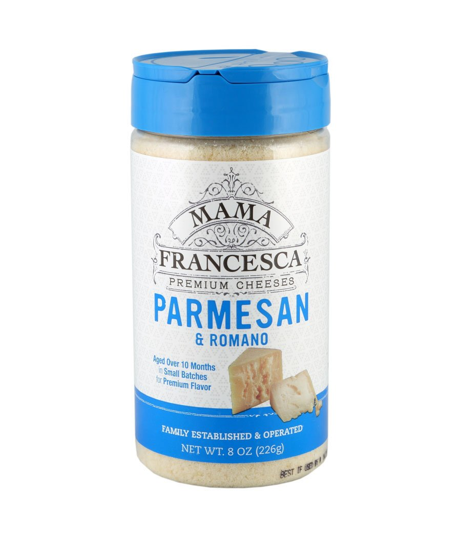 Mama Francesca Premium Parmesan and Romano Very popular! Reservation Ounce Cheese 8