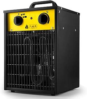 Calentador De Ventilador De Servicio Pesado, Ventilador De Circulación De Aire Protección Contra Sobrecalentamiento De 3000 W E Impermeable IPX4 Para Oficina U Hogar Y Todas Las Habitaciones