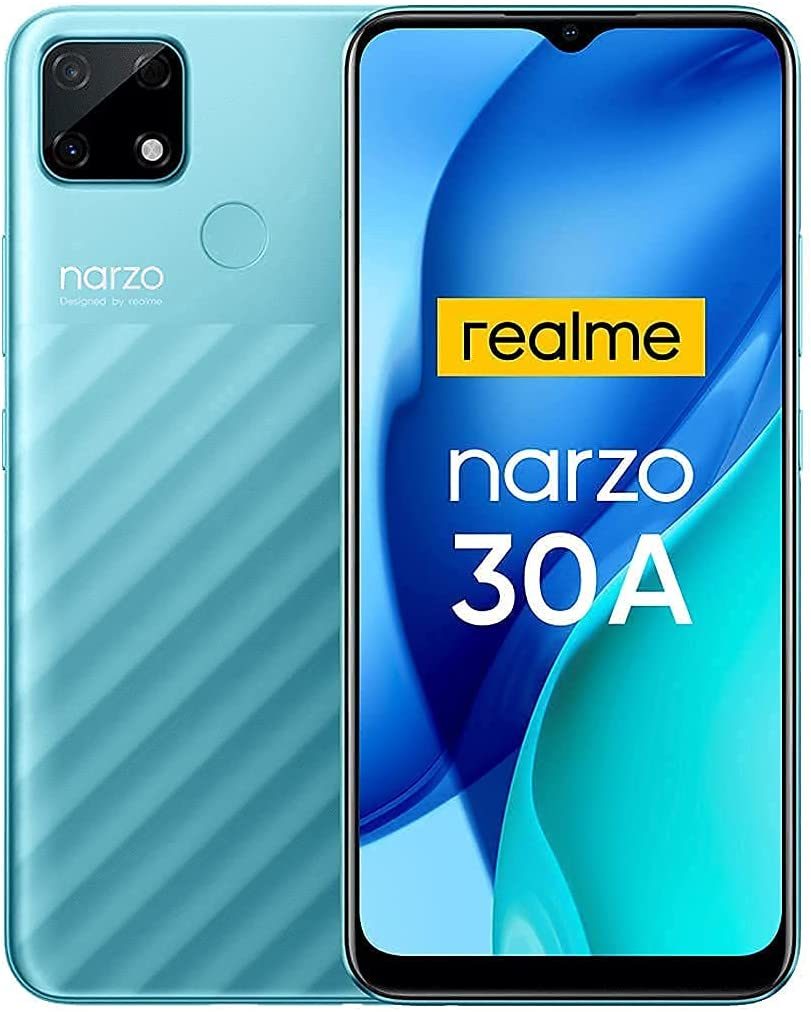 Realme Narzo 30A Smartphone Libre Mega Batería 6000mAh Carga Rápida 6.5