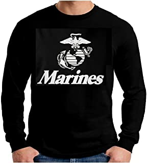 US Marines Long Sleeve T-Shirt USMC Marine Corps