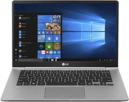 LG GRAM 14Z980-GAH52A2 2018 14-Inch Laptop (8th Gen Core i5-8250U/8GB/256GB SSD/ Windows 10 Home / Intel UHD 620 Grams), Dark Silver