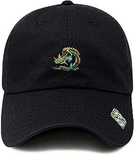 Dragon Ball Design Dad Hat Cotton Baseball Cap 6 Colors