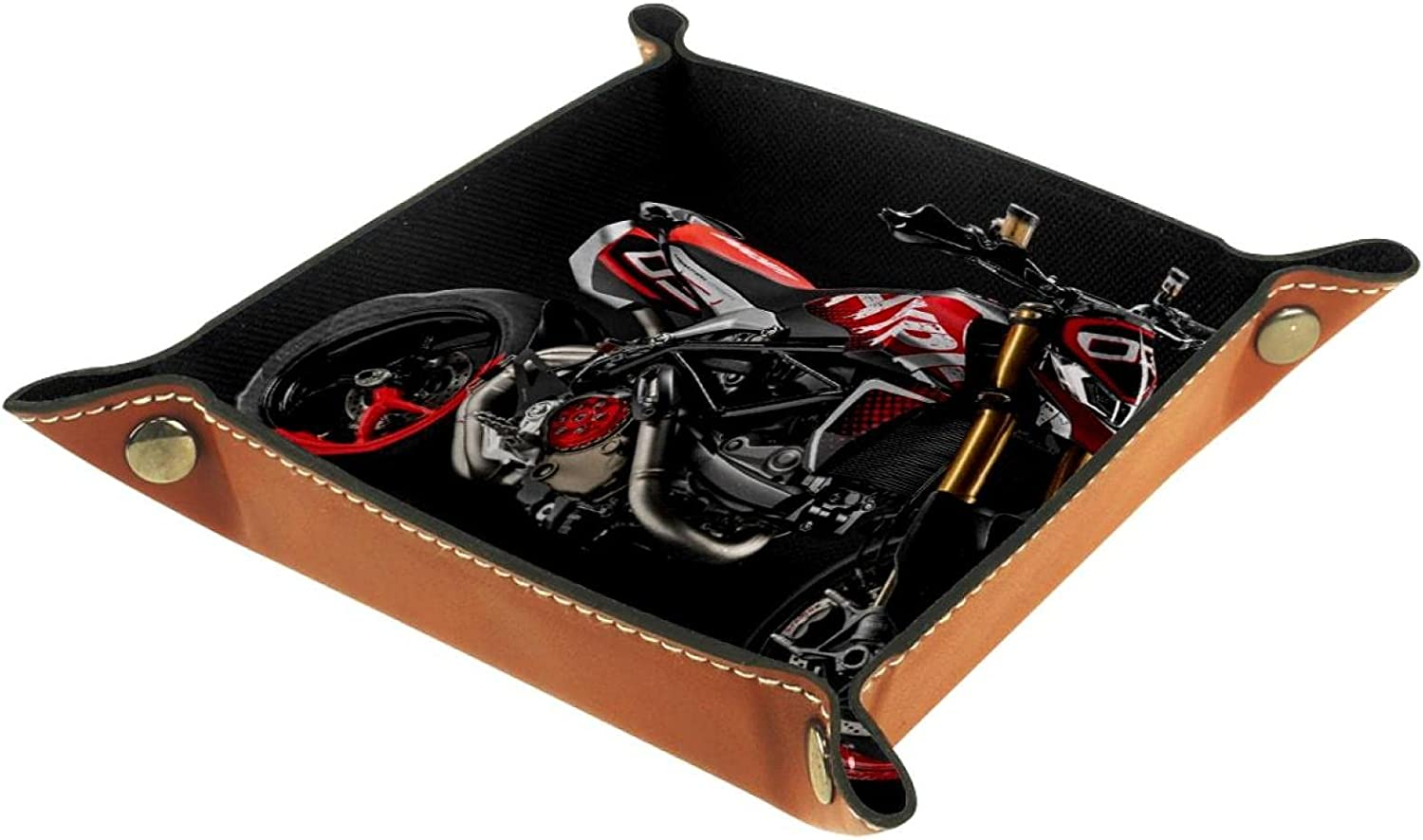 rogueDIV PU Leather El Paso Mall Foldable Dice Jewelry Rolling Selling and selling Tray for Watch