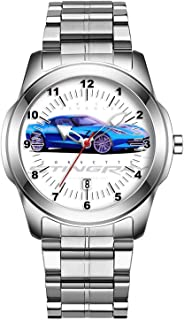 Luxury Watches for Men Sports Watch for Men Analog Dial, Quartz Movement with Calendar Mens Watches Collection 016.2014 Chevrolet Corvette Stingray