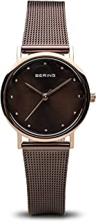 BERING Womens Analogue Quartz Watch with Stainless Steel Strap 13426-265