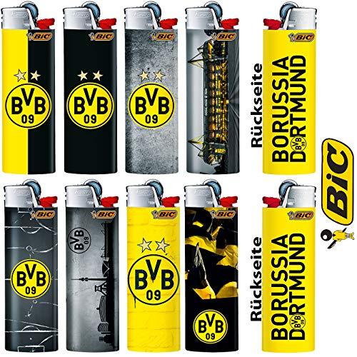 BIC Feuerzeuge Lizenz BVB 10 Stück sortiert