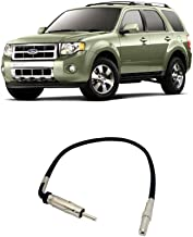 Compatible with Ford Escape 2008-2012 Factory Stereo to Aftermarket Radio Antenna Adapter Plug