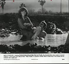 Historic Images - 1981 Press Photo Sally Field and Tommy Lee Jones in Back Roads