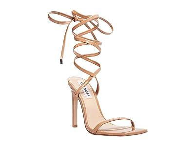 Steve Madden Uplift Heeled Sandal (Camel Patent) Women