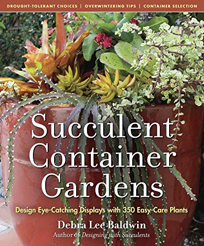 Succulent Container Gardens: Design Eye-Catching Displays with 350 Easy-Care Plants (English Edition)