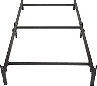 Best Amazon Basics 6-Leg Support Metal Bed Frame - Strong Support for Box Spring and Mattress Set - Tool-Free Easy Assembly - Twin Size Bed Review