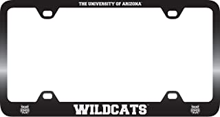 LXG, Inc. University of Arizona -Metal License Plate Frame-Black