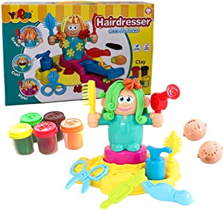 Hairdresser Color Clay Toys molding Clay Play Dough Tool Kit