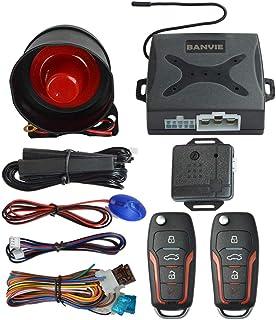 BANVIE PKE Car Alarm System with Passive Keyless Entry