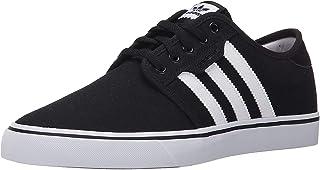 adidas Originals mens Seeley Running Shoe, Black/White Gum, 10.5 US