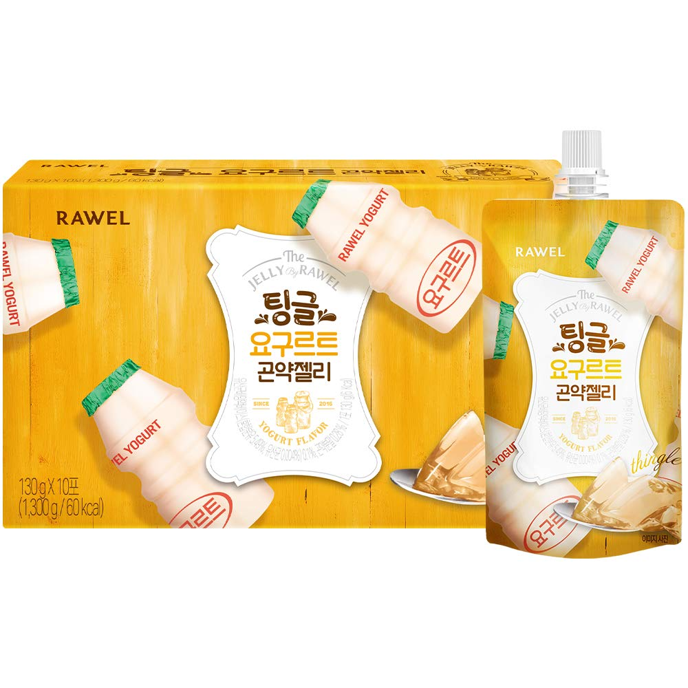 Rawel Delicous safety A surprise price is realized Diet Konjac Jelly 1box Supple Dietary 10packs