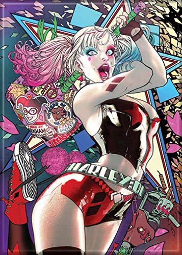 61mKGuSC3LL Harley Quinn Magnets