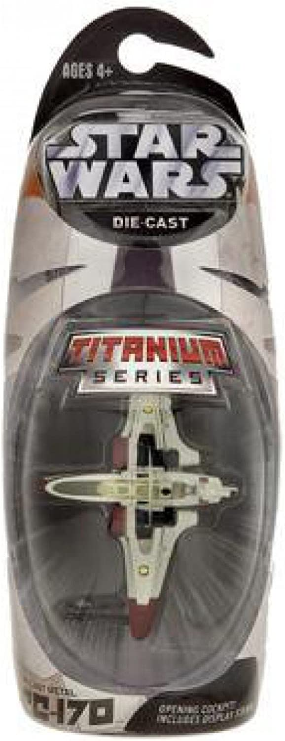 Star Wars Titanium Series Die Cast Metal Arc170 with Opening Cockpit