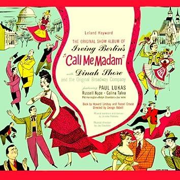 Call Me Madam (Original Cast Recording)