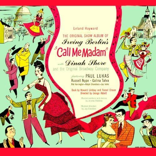 Original Cast Of Call Me Madam