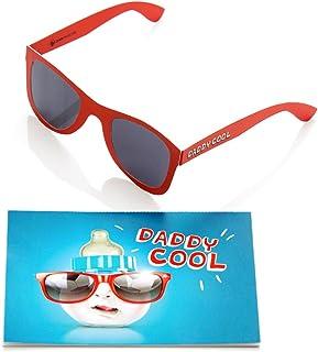 248b1773fa Juego de 2, modelos y divertido tarjeta para Papa nacimiento con gafas de  sol I