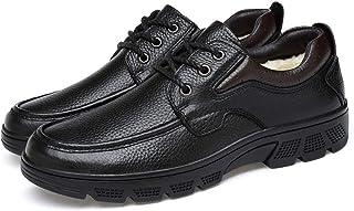 MFF Zapatos de los Viajes de Negocios de los Hombres, Zapatos de Corte bajo de Senderismo Informal, Invierno y el algodón ...