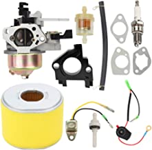 Mckin GX390 13HP Carburetor for Honda GX340 11HP GX 390 Engines with Air Filter Repower Kit